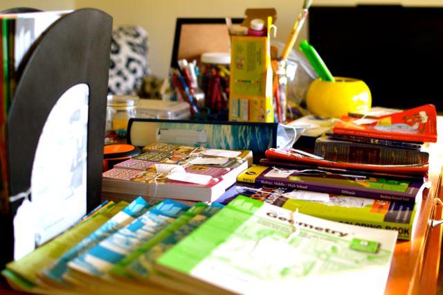 Estate Sale School Supplies