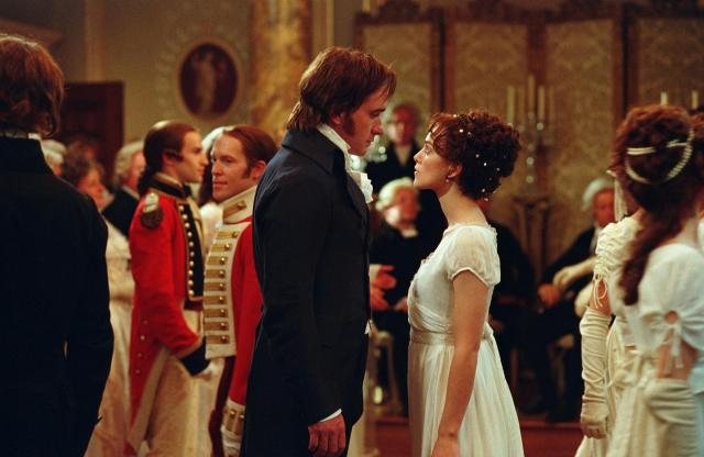 darcy and elizabeth fighting