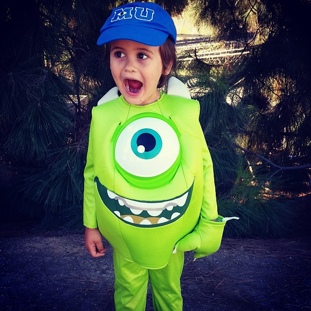 Griff as Mike Wazowski