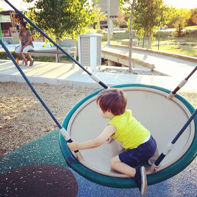 Griff Swinging